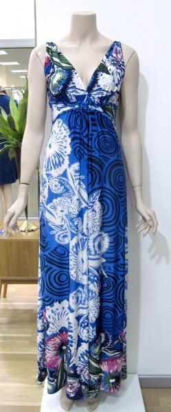 Maxi Jersey Kleid