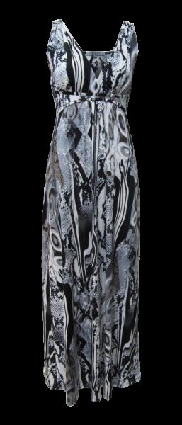 Maxi Jersey Kleid im Schlangendruck