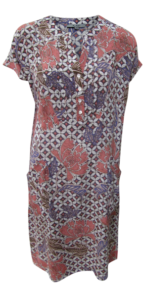 Tunika Kleid mit seitlichen Taschen