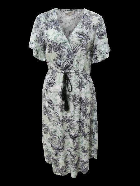 Viskose Kleid im Hawaii Druck